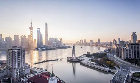 HHuangpu-floden i Shanghai