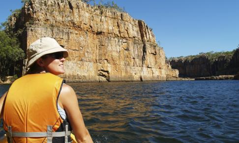Kanotur i Katherine/Nimiluk National Park, Australien - Risskov Rejser