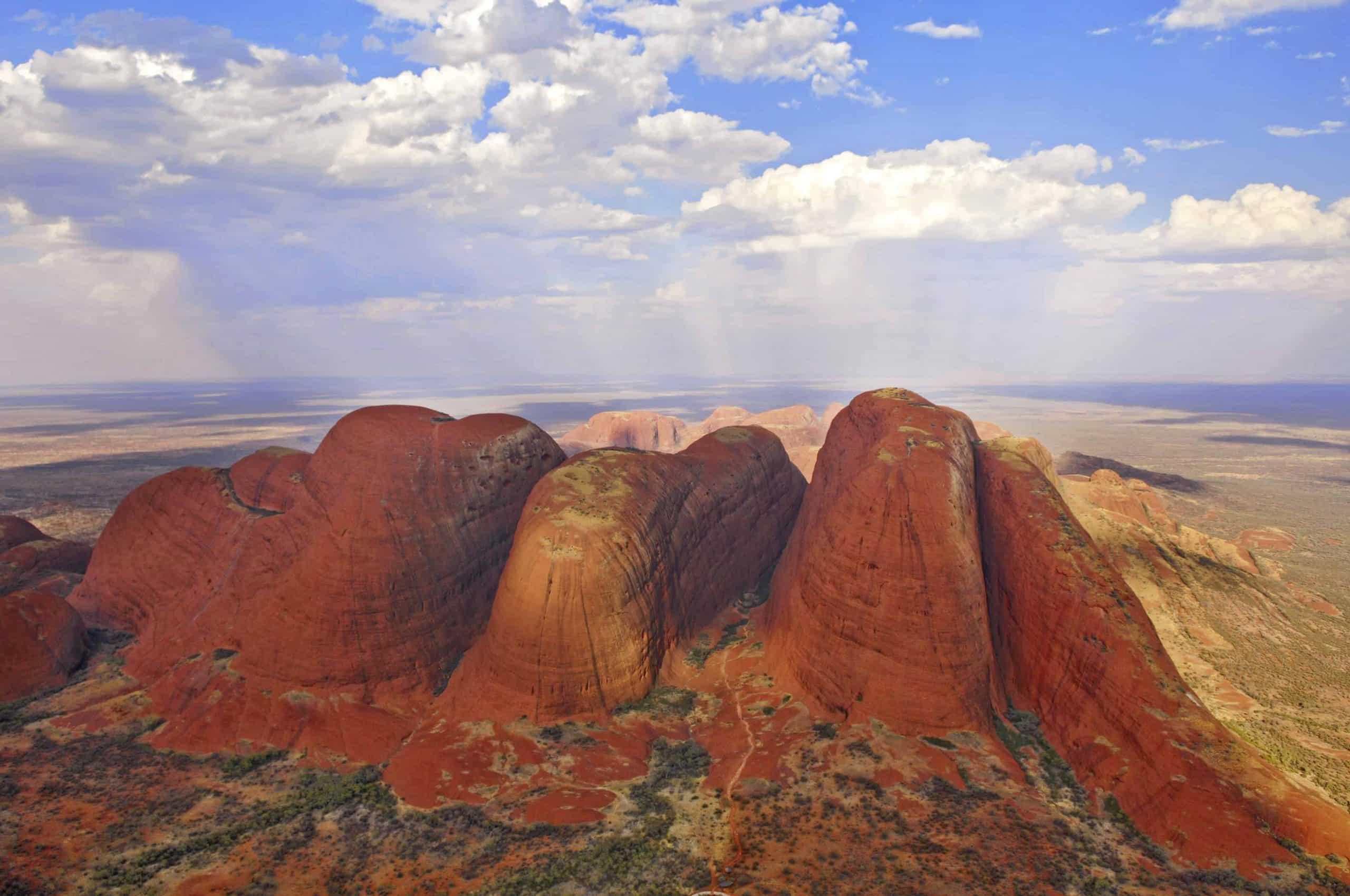 Kata Tjuta i den røde ørken