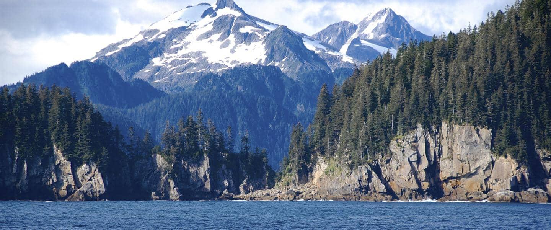 Kenai Fjordes National Park i Alaska USA