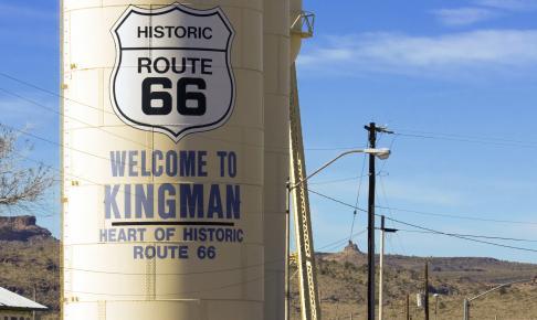 Kingman route 66 - Risskov Rejser
