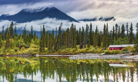 Kluane Lake - Yukon, Canada.