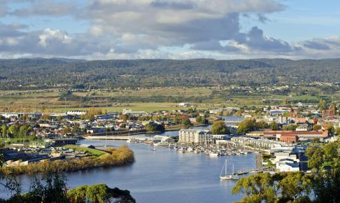 Launceston på Tasmanien
