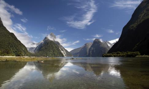 Milford Sound landscape - Risskov Rejser