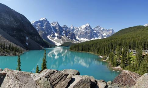 Moraine Lake, Canada - Risskov Rejser