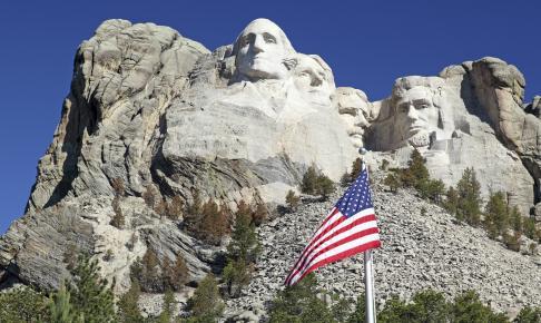 Mount Rushmore i South Dakota USA - Risskov Rejser