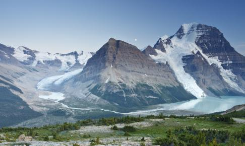 Mount Robson i Rocky Mountains