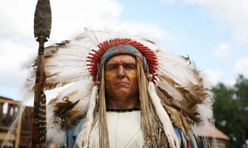 Indianerhøvding - Risskov Rejser
