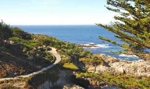 Monterey-halvøen ved Californiens kyst - Risskov Rejser