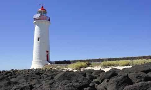 Fyrtårnet ved Port Fairy