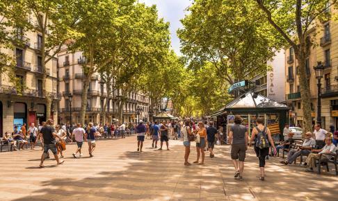 Rambla Barcelona