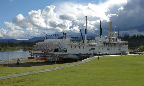 SS Klondike i Whitehorse - Risskov Rejser
