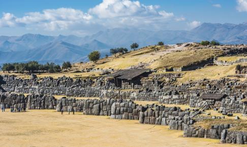Inka-ruinen Sacsayhuaman - Risskov Rejser