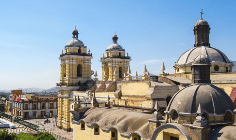 San Francisco-kirken i Lima - Risskov Rejser