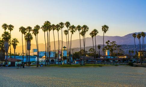 Promenade i Santa Barbara - Risskov Rejser