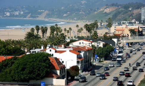 Santa Monica strand, California - Risskov Rejser