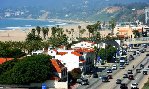 Santa Monica Beach, Californien - Risskov Rejser