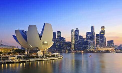 Singapore Skyline - Risskov Rejser