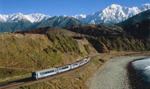 Toget The Tranz Alpine - Risskov Rejser