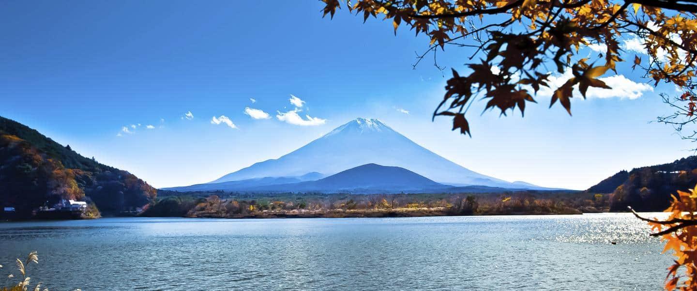 Mt. Fuji er Japans største bjerg med sine 3.776 meter - Risskov Rejser