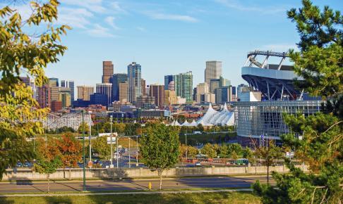 Udsigt ud over Denver - USA - Risskov Rejser