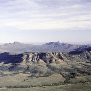 Wilpena Pound i Flinders Rangers - Risskov Rejser