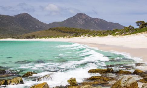 Wineglass Bay Tasmania - Risskov Rejser