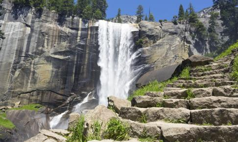 Vandfald Yosemite Nationalpark