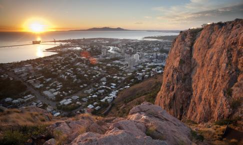 Udsigt over Townsville fra Castle Hill - Risskov Rejser