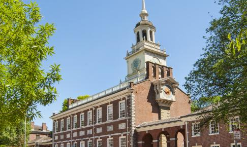 Independence Hall i Philadelphia