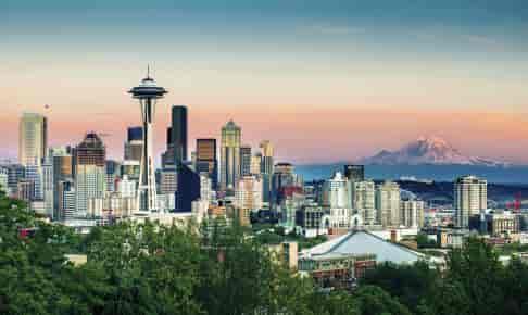 Seattle skyline - Risskov Rejser