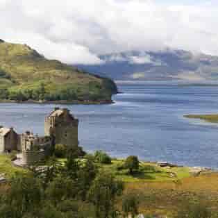 Eilean Donan castle, Skotland - Risskov Rejser