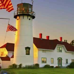 Chatham Lighhouse, Cape Cod - Risskov Rejser