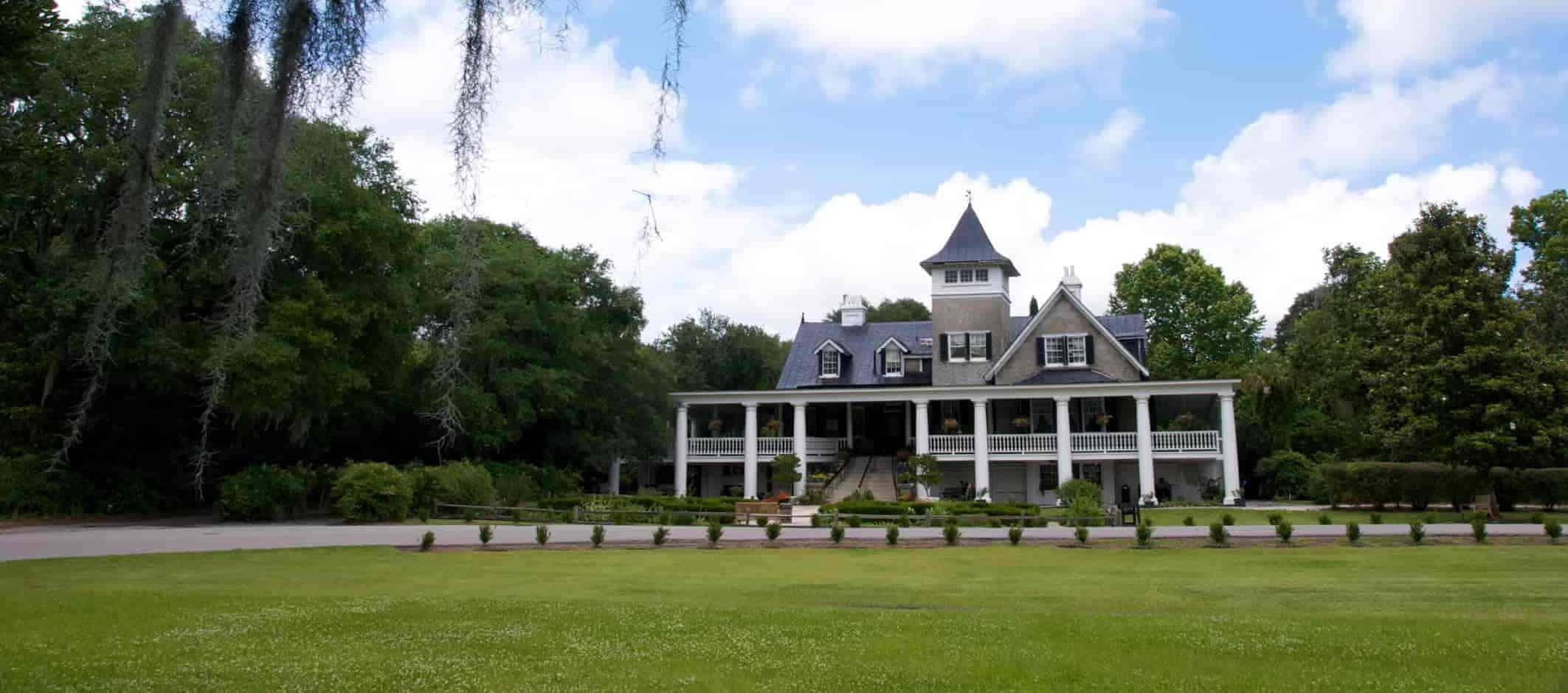 Magnolia Platation i South Carolina