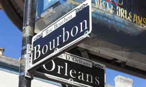 Bourbon Street i New Orleans