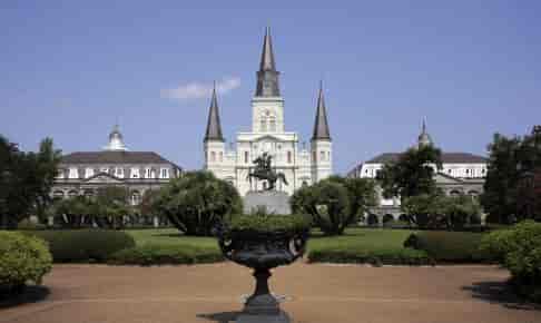 St Louis Cathedral i New Orleans - Risskov Rejser
