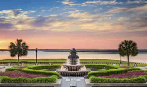 Waterfront Park i Charleston