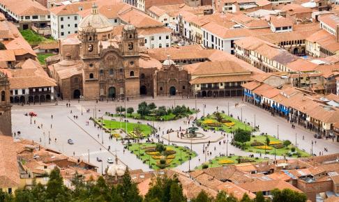 Plaza de Armas i Cusco