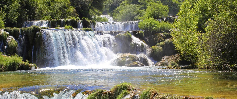 Vandfald KRKA i Kroatien - Risskov Rejser