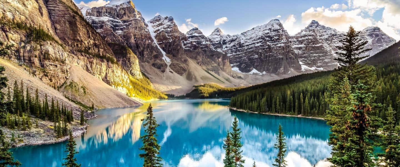 Morain Lake, Alberta, Canada - Risskov Rejser