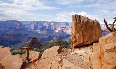 Udsigt i Grand Canyon National Park i Arizona - USA - Risskov Rejser