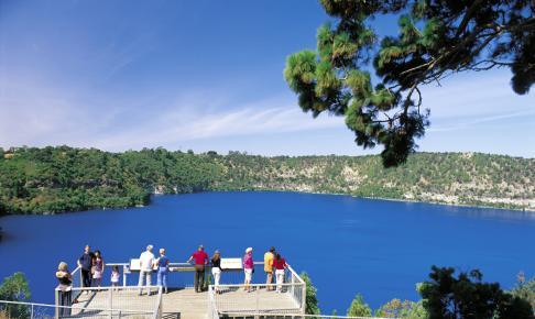 Blue Lake, Australien - Risskov Rejser