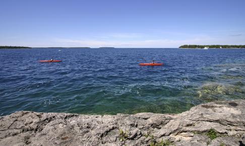 Bruce Peninsula National Park i Ontario - Risskov Rejser