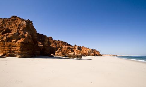 Cape Leveque nord for Broome - Risskov Rejser