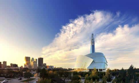 Civil Rights Museum i Winnipeg - Risskov Rejser