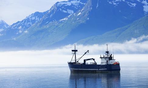 Fisketrawler ved Valdez - Risskov Rejser