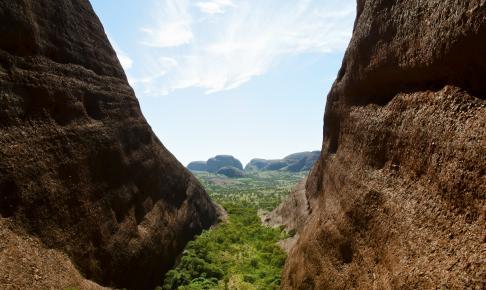 Kata Tjuta i Northern Territory - Risskov Rejser