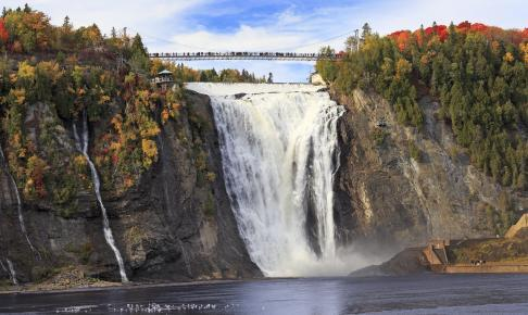 Montmorency Falls - Canada - Risskov Rejser