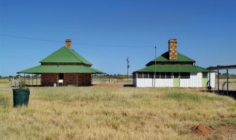 Den gamle telegrafstation i Tennant Creek