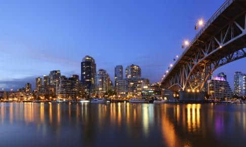 Granville Bridge and Downtown Vancouver - Risskov Rejser